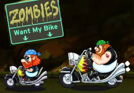 Zombie wants my bike